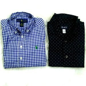 🏇Polo/Childrens Place Button Down M